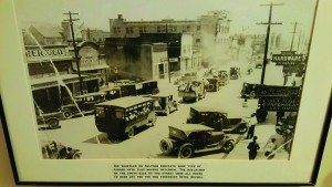 Courtesy photo A from the 1920's shows Aultman Street as a bustling center of activity in downtown Ely. Right in the middle of the commotion was a popular bar, The Ely Mercantile, later known as the Liberty Club.