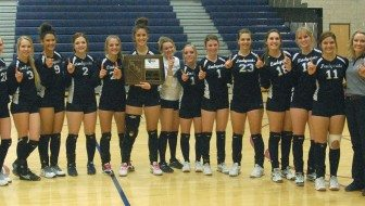 Girls volleyball off to state