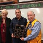 Lions club honors Dunnavant for Teacher of the Month