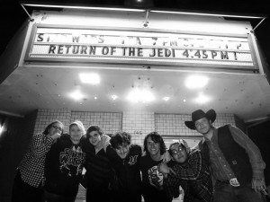 Ross Johnson photo The latest installment of the Star Wars movie has crowds lining up at the Central Theater.