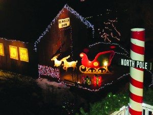 Courtesy photo The Polar Express has arrived at the North Pole!