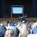 Middle school hosts new anti-bullying speaker