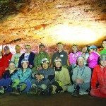 Volunteers clean up Lehman Cave