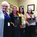 Ely Lions Club honors teachers of the month for February