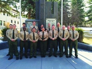 Courtesy photo Ely State Prison Correctional Academy graduates on March 18.