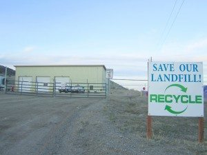Ross Johnson photo The Ely landfill, in the vicinity of the coming recycling center