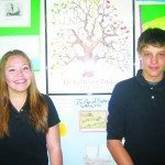 Sandoval and Maestes March students of the month