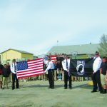 American Legion donates flags to Learning Bridge school