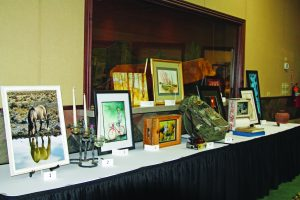 Courtesy photo A few items to be auctioned during the silent and live auction.