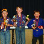 District Pinewood Derby winners