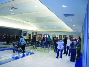 Ross Johnson photo The White Pine County Democratic Convention at White Pine High School on April 2.