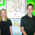 Ball and Conner Elks April Students of the Month