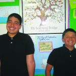 Rosales and Andre Elks May Students of the Month