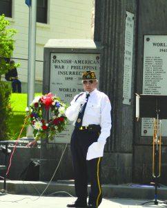 American Legion Commander Ken Curto