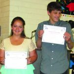 Sandoval and Westlund named Students of the Year