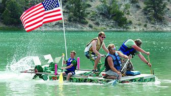 Great Bathtub Races return to Cave Lake State Park