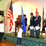 Elks' Hold Flag Day Ceremony