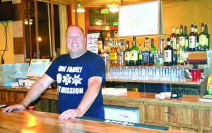 """Photo by Marty Bachman  Tony Alfieri, aka """"Tony Baggadonuts"""", has opened Tracks Saloon and Stage at 392 Aultman Street, site of the former Good Times bar."""