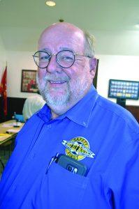 White Pine Management Board Executive Director Mark Bassett.