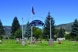 Photos by Marty Bachman  The Ely Cemetery will now offer free plots to veterans.