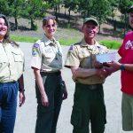 Robinson Mine donates to local scouts