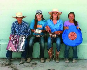 12-6: Carson Wright, Victoria Theurer, Melanie Heckethorn, Maggie Wines.