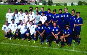 Photos special to the Times The 2016 Bobcat soccer team.