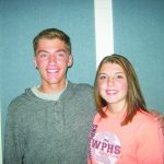 Bilbao and Cessford September Elks Students of the Month