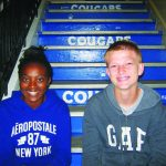 Young and Partey September Junior Elks students