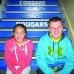 Sturgeon and Manning November Junior Elks Students of the Month