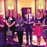 District personnel honored at conference
