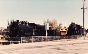 Locomotives 93 & 81 – For 30 years Locomotives 93 and 81 sat outside at the White Pine Public Museum. Locomotive 93 was put in service in 1993. With you help we can get Locomotive 81 in service too. (Kelvin Martinez photo)