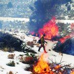 BLM burn a success  second time around