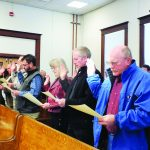Commission meeting held after swearing in new commissioners