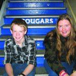 Overson and Bishop  Elks April Junior Students