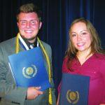 Sturgeon and Maestes receives American Legion scholarship