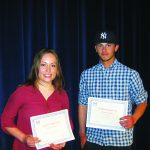 Britton and Maestes Elks Students of the Year