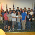 Elks Little League All-Star donation