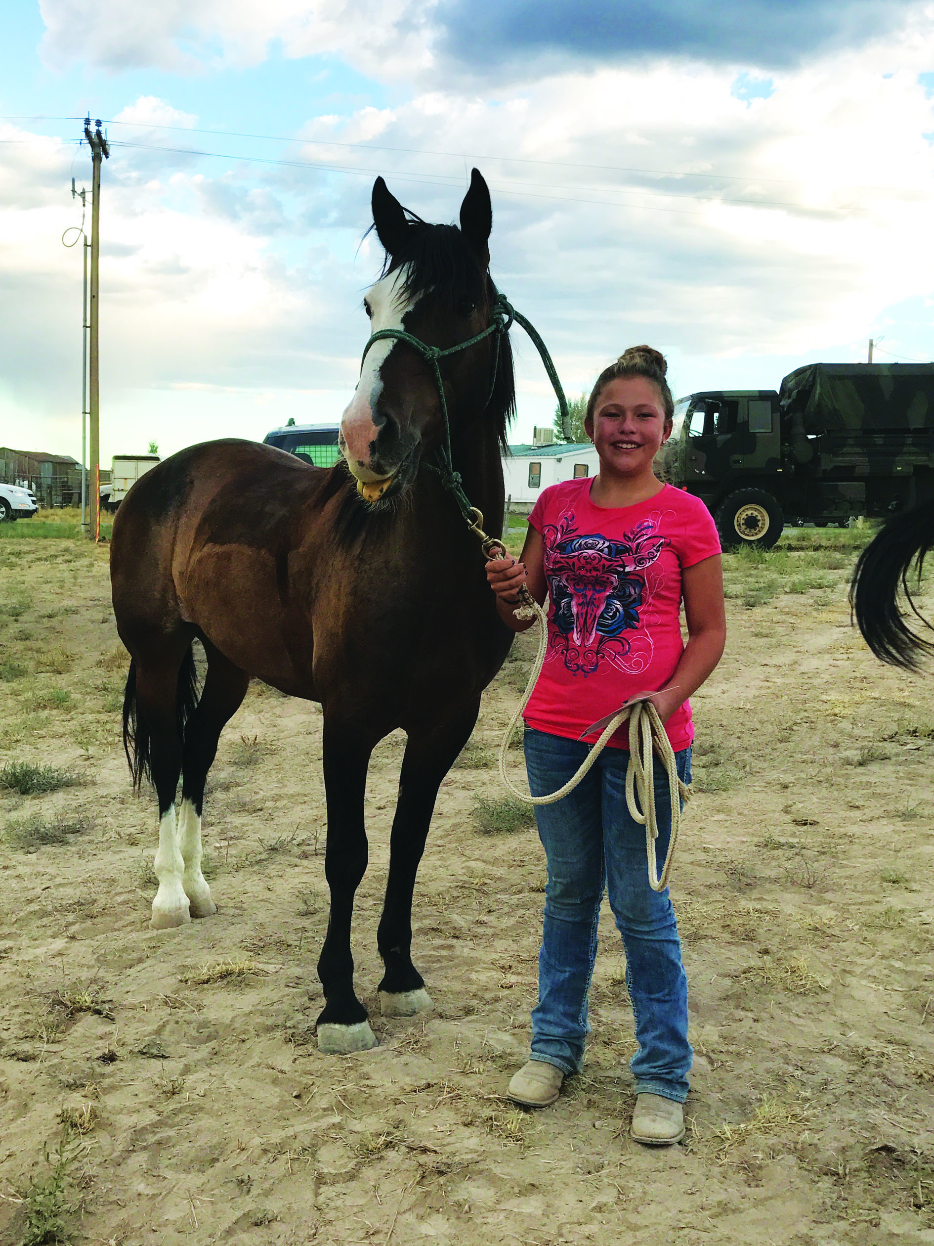Ely's first wild horse adoption a big success
