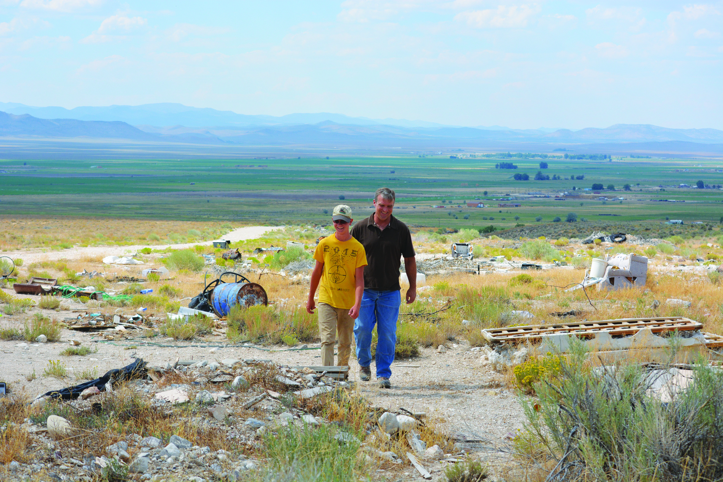 Lund scout's Eagle project picked as National Public Lands Day event