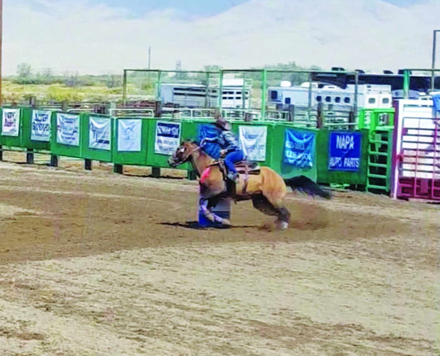 Rodeo Club hosting  rodeo this weekend