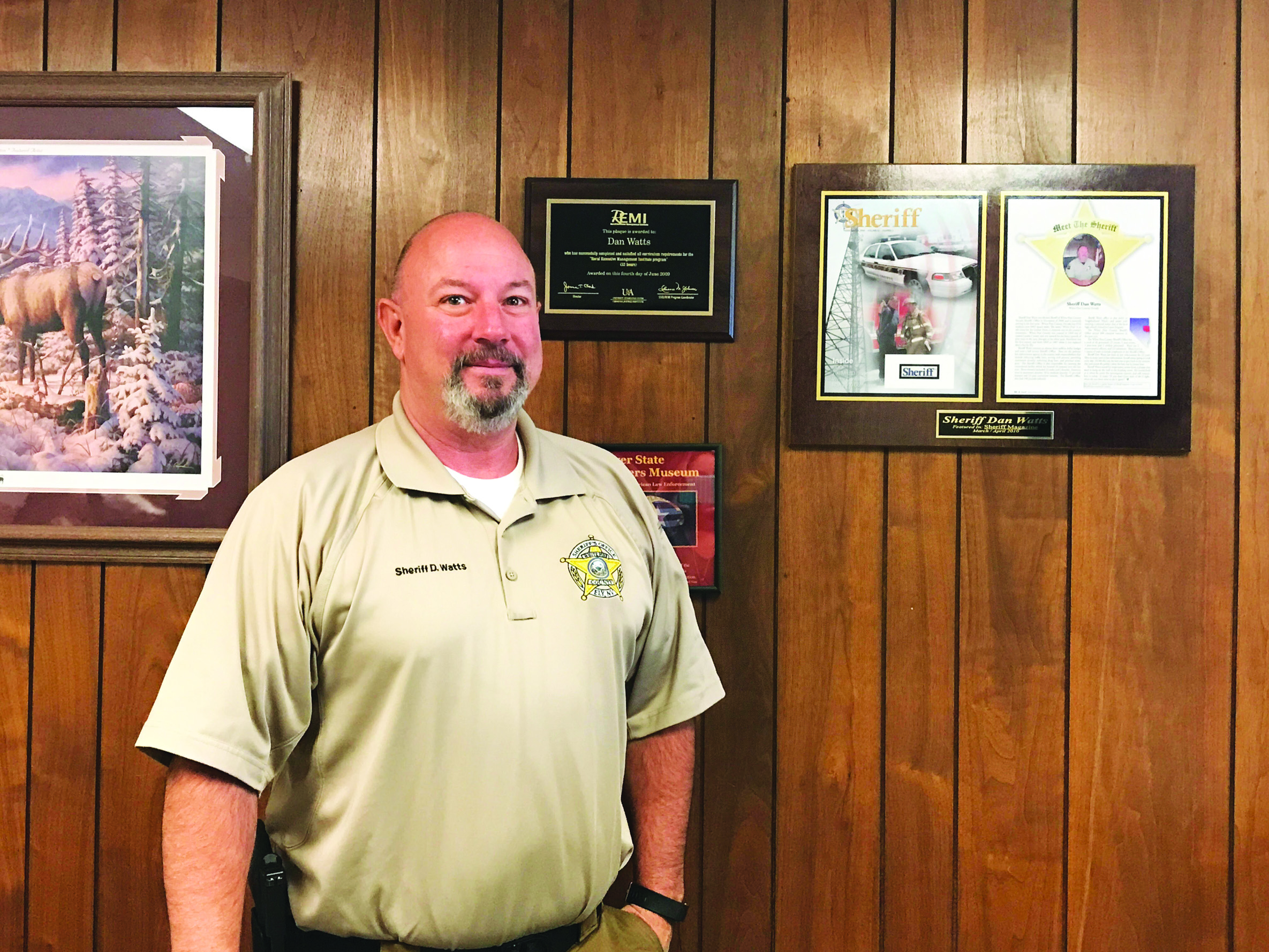 Sheriff resigns after 30 years on force