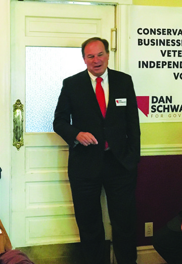 Gubernatorial candidate makes stop in Ely