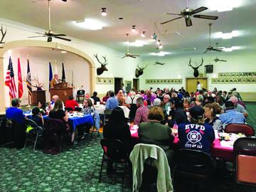 Ely Elks Lodge honors veterans with dinner