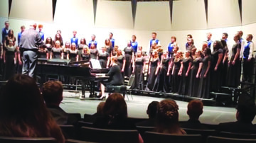 White Pine High school choir performs in Elko