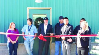 Dispensary opens on Shoshone Tribal land