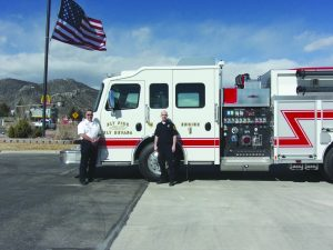 New Fire Truck Comes From Donated Funds The Ely Times
