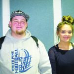 Hendrix and Poulsen  February Elks Students