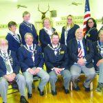 Ely Elks install 2018-2019 officers