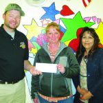 Elks Little League donation